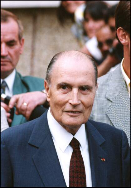 François Mitterrand et Anne Pingeot