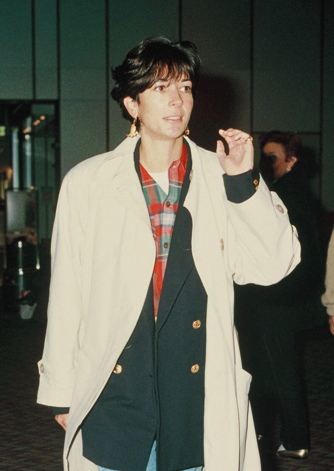 Ghislaine Maxwell en 1992 à Londres