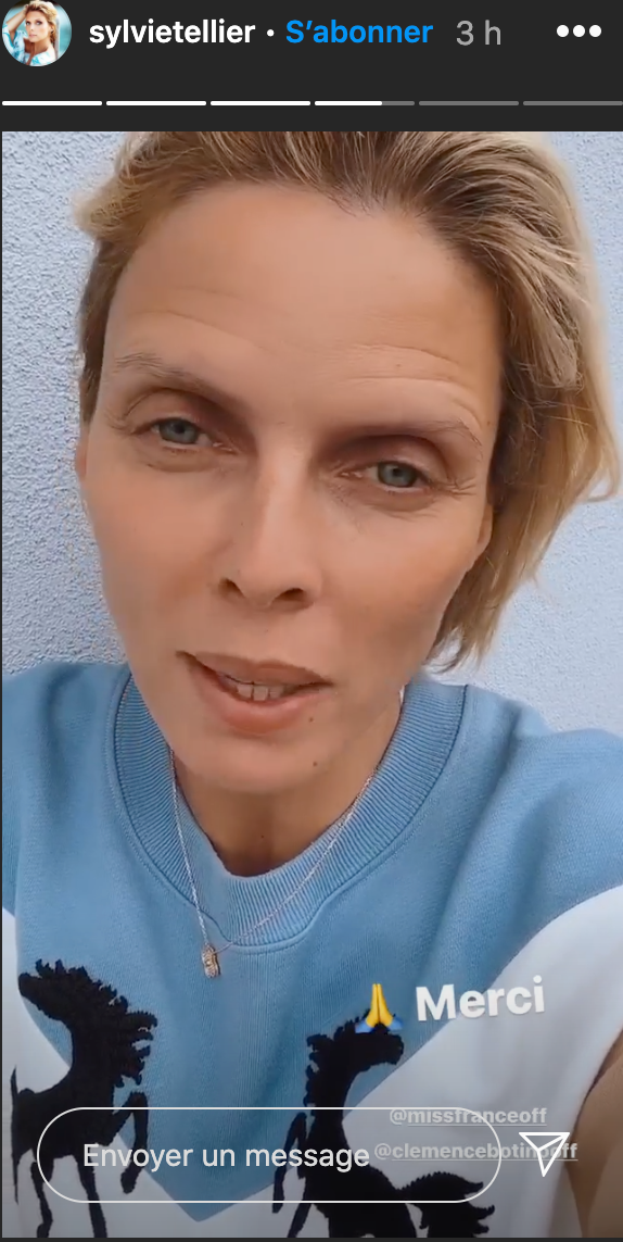 Sylvie Tellier s'adresse aux fans de Clémence Botino pour les rassurer