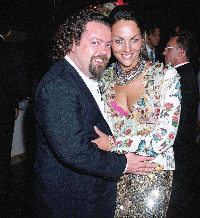 Hermine de Clermont Tonnerre et Alastair Cuddeford en 2003