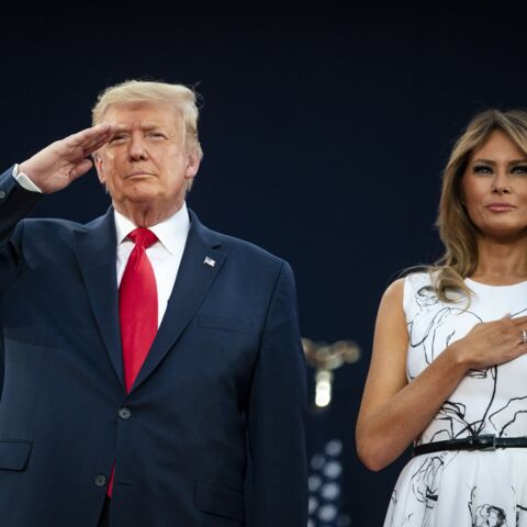 PHOTOS – Melania Trump: sa tenue fait (encore) beaucoup parler