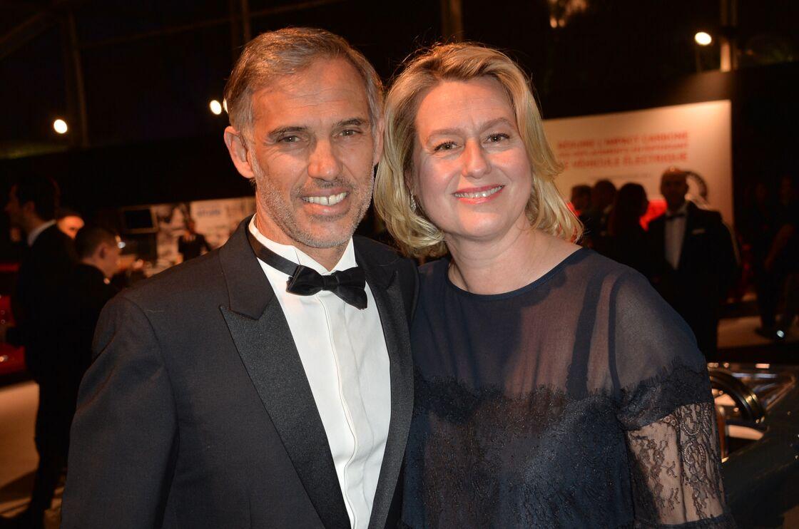 Paul Belmondo et sa femme Luana Belmondo - 35ème cérémonie de remise des grands prix du Festival Automobile International à l'hôtel National des Invalides à Paris, le 28 janvier 2020.