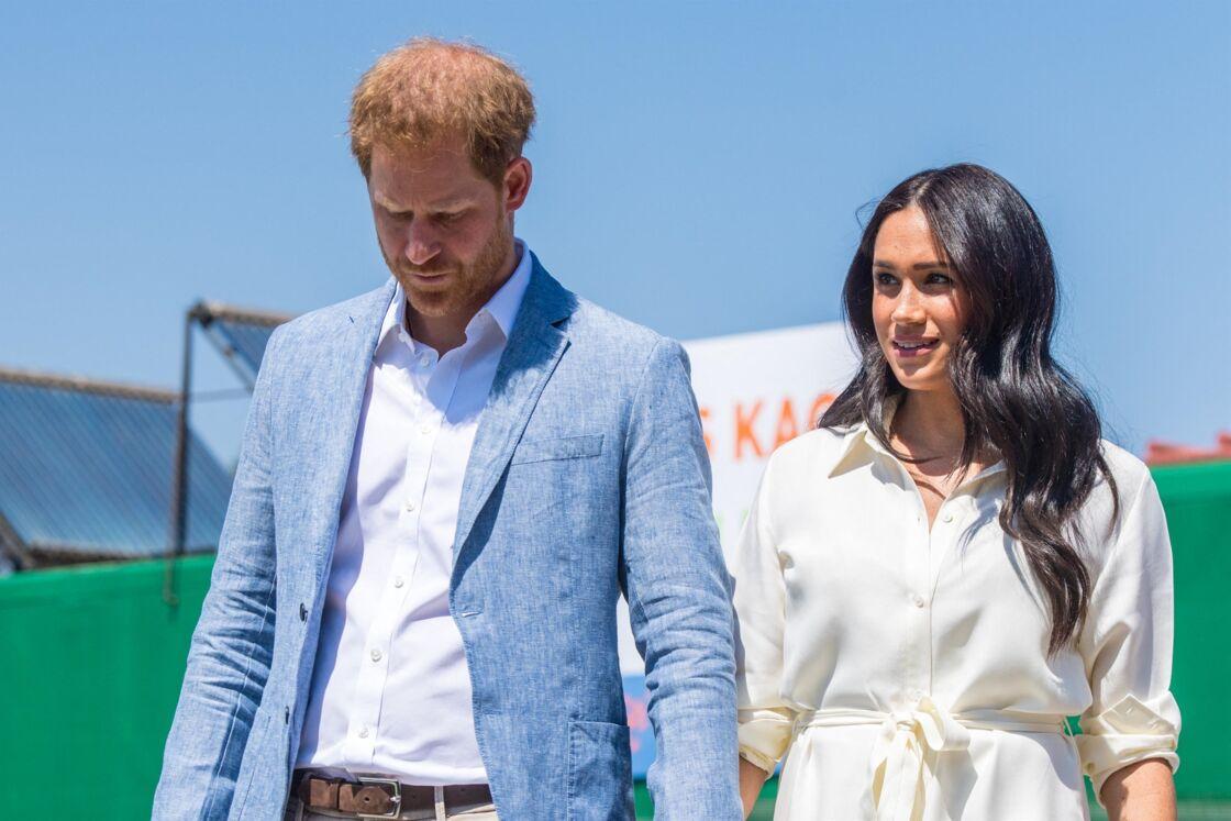 Le prince Harry et Meghan Markle le 2 octobre 2019
