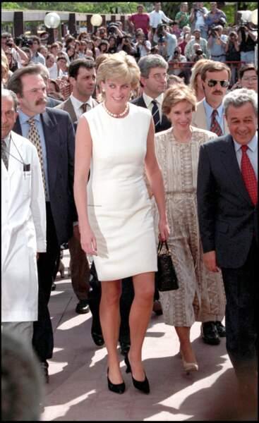 Lady Diana engagée jusqu'au bout