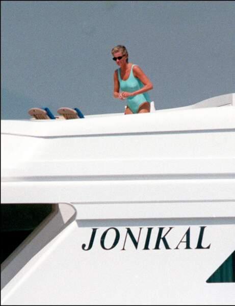 Les vacances insouciantes de Lady Diana