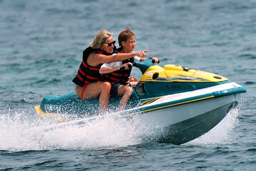 Lady Diana a vécu des vacances en famille