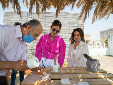 PHOTOS : Rania de Jordanie s'octroie une rare sortie avec sa fille ainée Iman