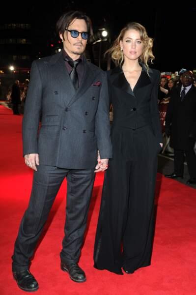 Johnny Depp et Amber Heard