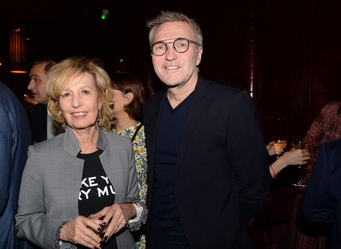 Laurent Ruquier et Catherine Barma en 2018