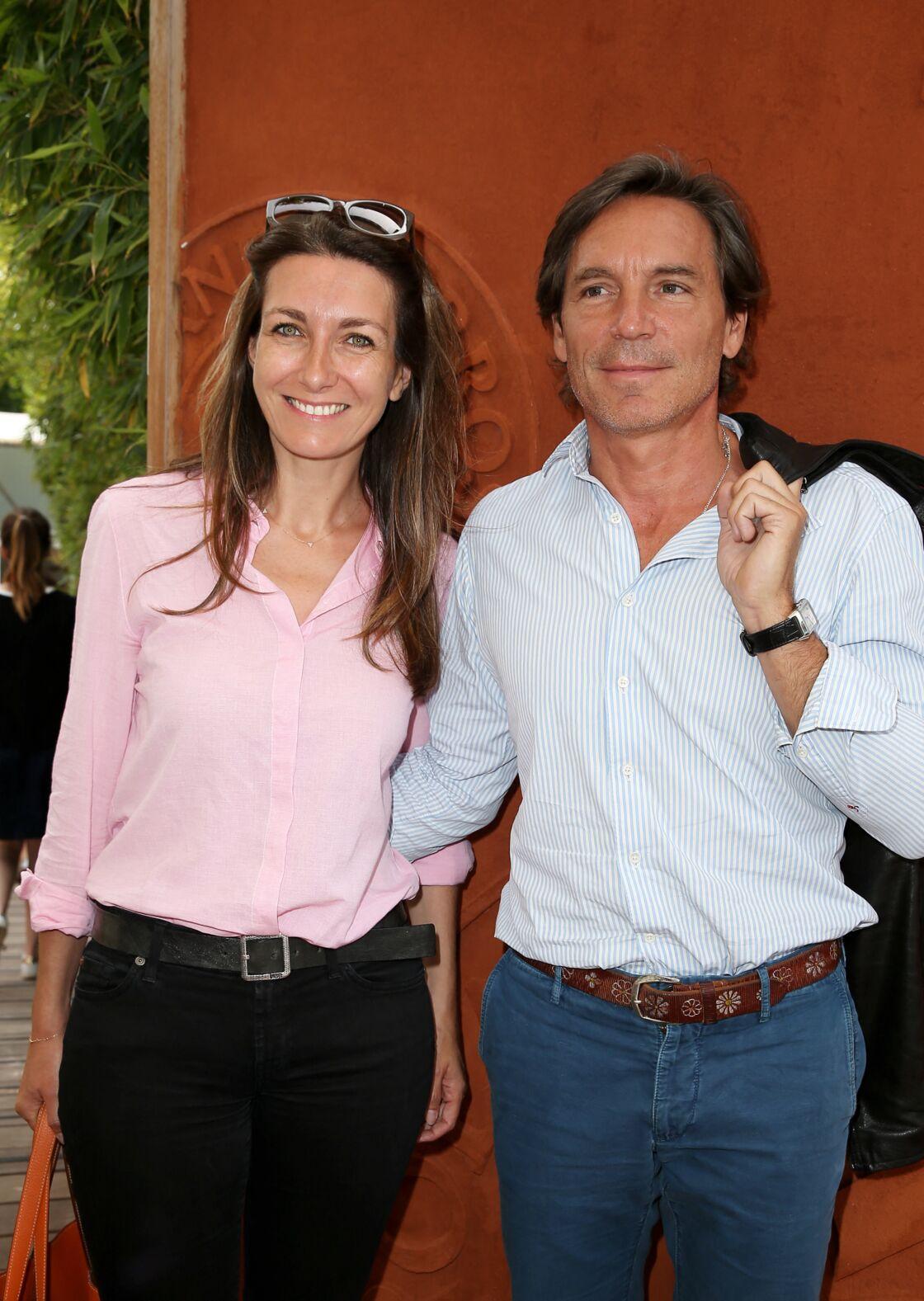 Anne-Claire Coudray a retrouvé le sourire au côté de Nicolas Vix.