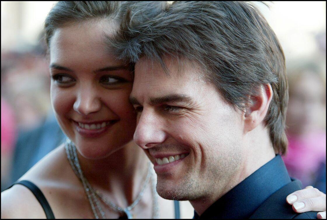 Katie Holmes et Tom Cruise à Rome en avril 2005