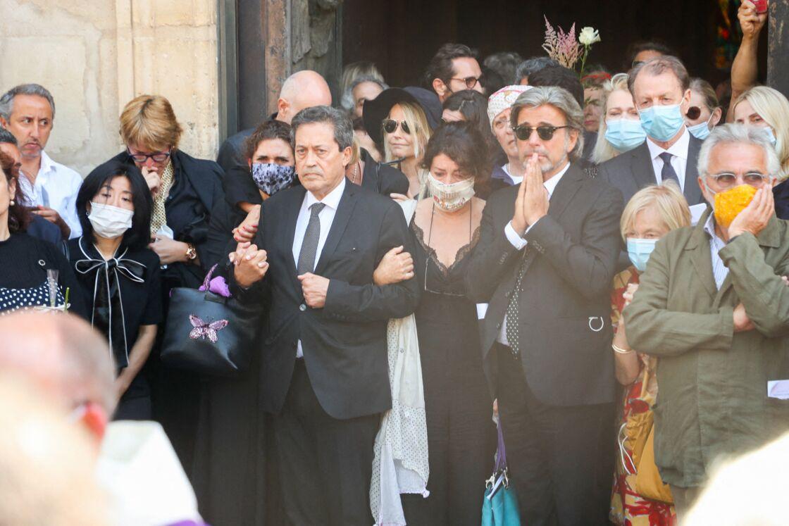 Georges Fenech a fait partie des nombreux proches d'Hermine de Clermont-Tonnerre présents à ses obsèques, ce jeudi 9 juillet 2020