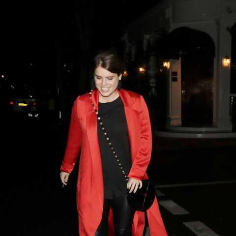 PHOTOS – Eugenie d'York branchée: elle ose le slim en cuir à Londres