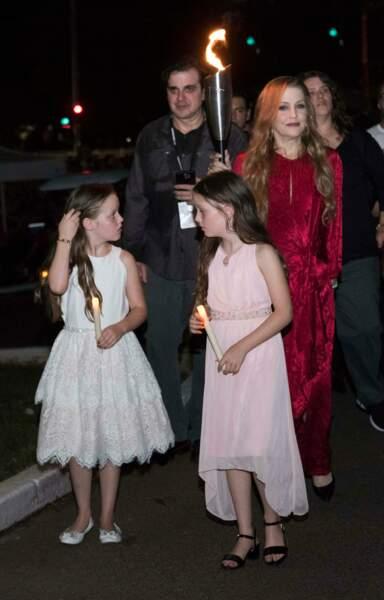 Lisa Marie Presley : de cette union naitront deux jumelles, Finley et Harper