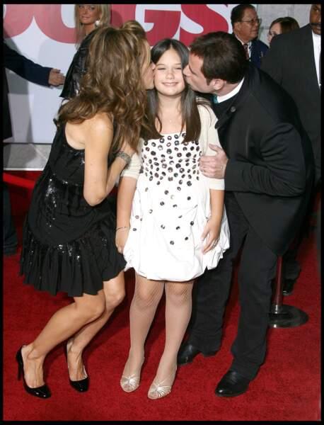 John Travolta, Kelly Shelton et Ella