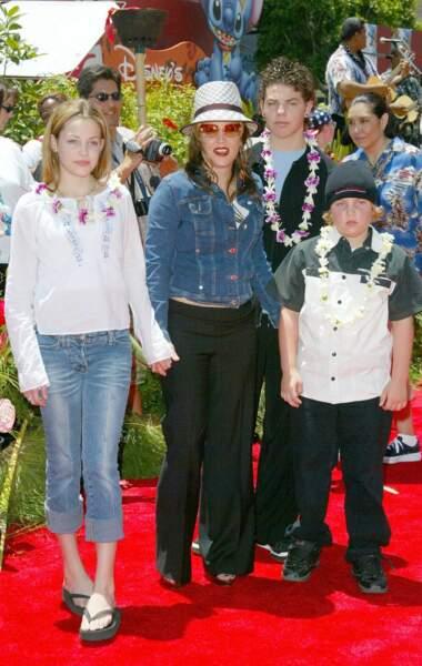 Lisa Marie Presley : elle n'hésite pas à s'afficher avec ses deux enfants