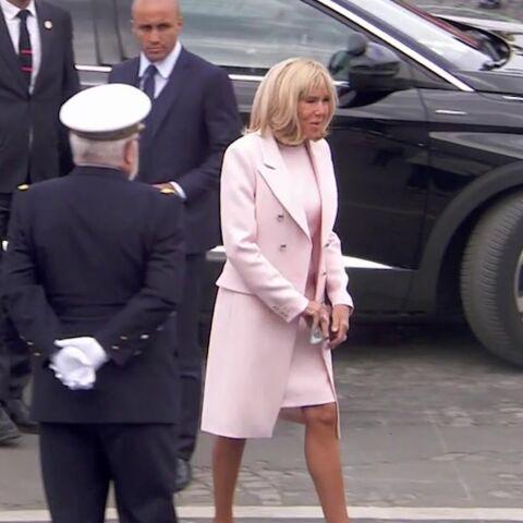 PHOTOS – Brigitte Macron: l'évolution de ses looks pour le 14 juillet