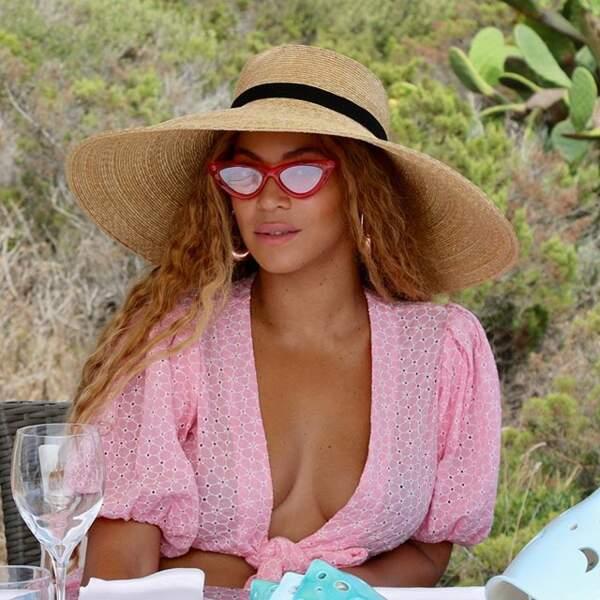 Beyoncé à Saint-Tropez
