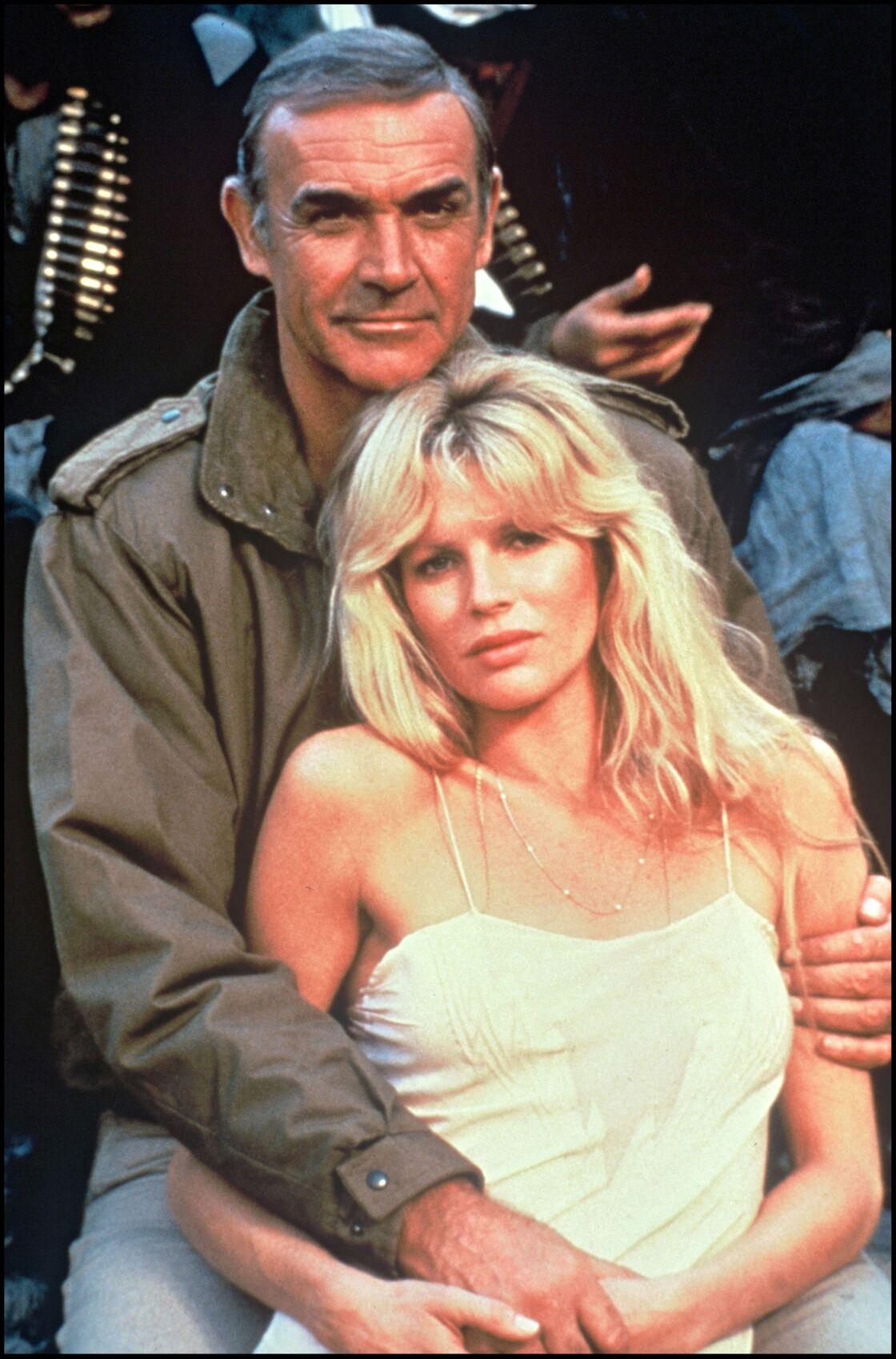 Kim Basinger, aux côtés de Sean Connery dans