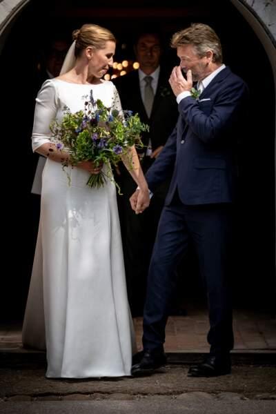 La Première ministre danoise avait repoussé son mariage avec le réalisateur Bo Tengberg à cause du coronavirus.