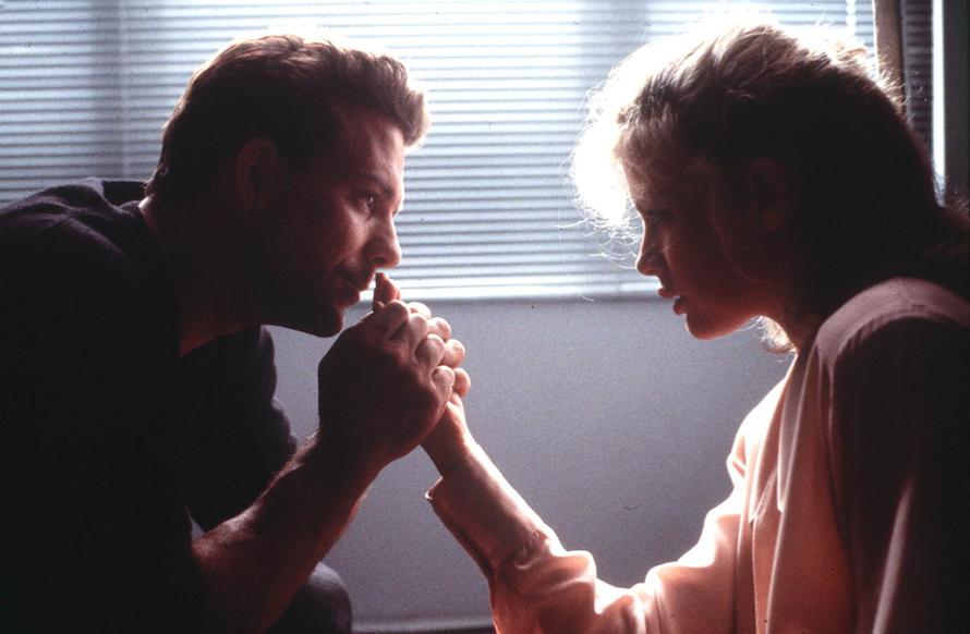 Mickey Rourke et Kim Basinger, sur le tournage de