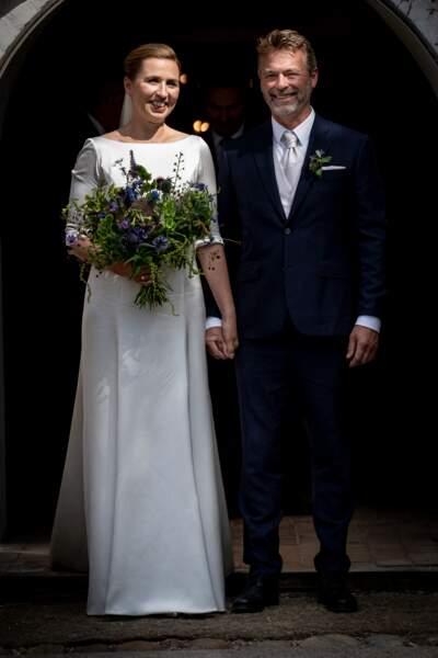 La Première ministre danoise Mette Frederiksen a finalement épousé son compagnon le 15 juillet 2020.