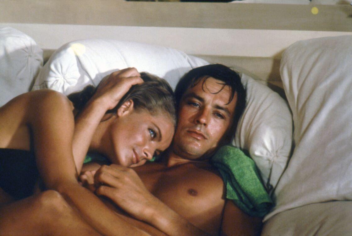 Romy Schneider a aussi vécu une relation passionnelle (et destructrice) avec Alain Delon. A l'été 1968, les deux ex se retrouvent pour former un couple à l'écran dans