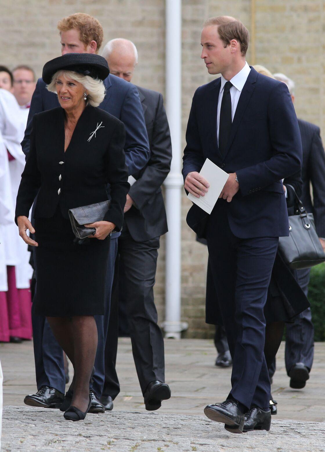 Camilla Parker Bowles a su se construire une bonne image auprès de William et Harry.