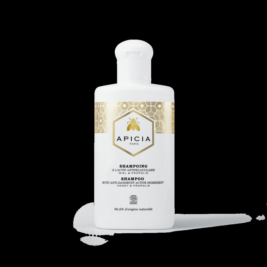 Un shampooing pour réparer en douceur les cheveux maltraités par le soleil (Shampooing Apicia, 13,90 €)