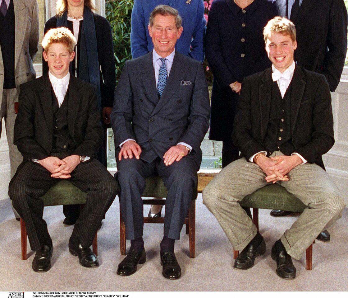 Wiliam et Harry sont tous les deux passés par les bancs d'Eton