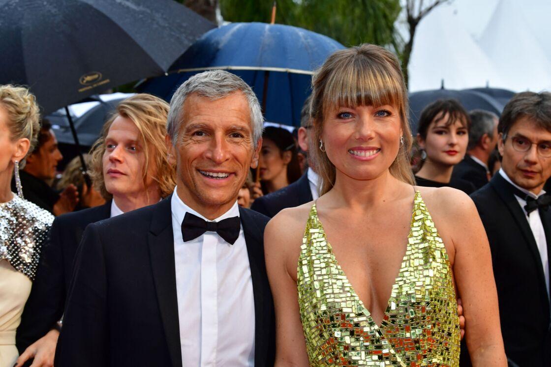 Nagui et sa femme Mélanie Page très complices au Festival de Cannes