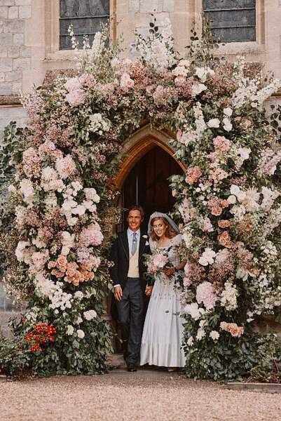 Mariage de Beatrice d'York et Edoardo Mapelli Mozzi