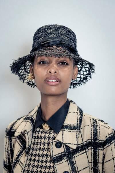 l'esprit chapeau de paille chez Dior