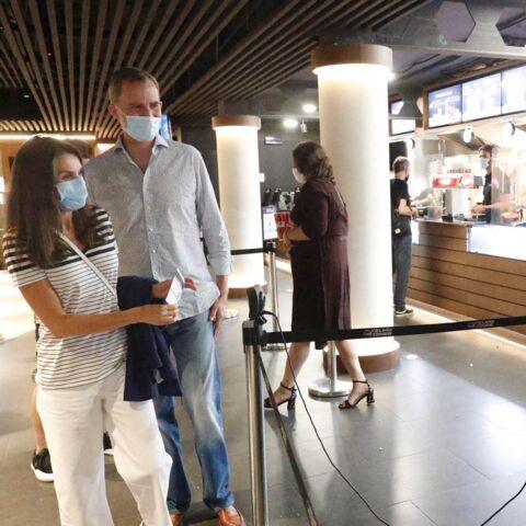 PHOTOS – Letizia et Felipe d'Espagne au cinéma: cette sortie remarquée