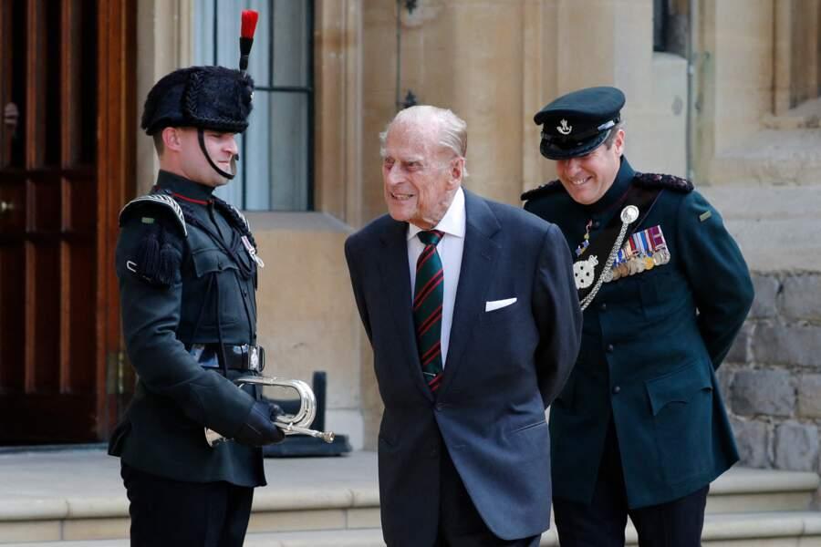 Depuis le début de la crise sanitaire, le prince Philip vit aux côtés de son épouse la reine Elizabeth II au château de Windsor