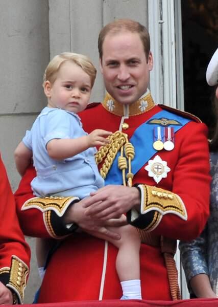 le prince george en 2015
