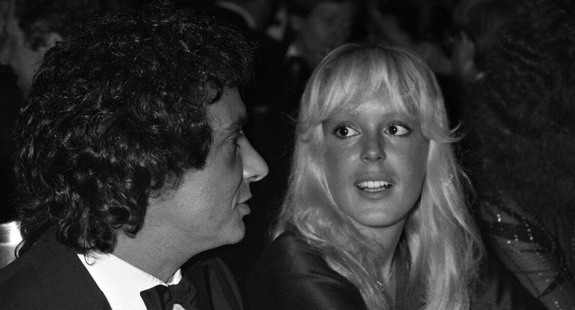 Michel Sardou et Babette au Gala de l'Unicef, à Paris, en 1980.
