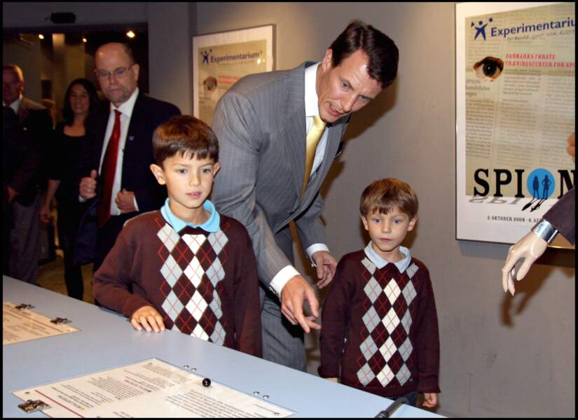 Les princes Nikolai, Joachim et Felix