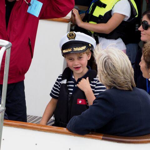 PHOTOS – Le prince George a 7 ans: ses photos les plus loufoques