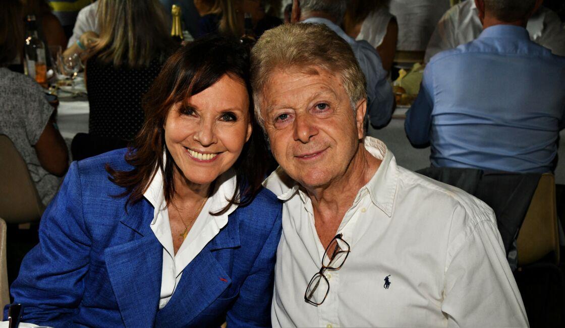 Denise Fabre et son mari, Francis Vandenhende, au jardin Albert 1er, à Nice, le 30 août 2019.