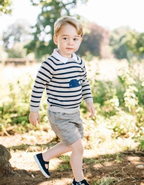 Le prince George célèbre son troisième anniversaire le 22 juillet 2016