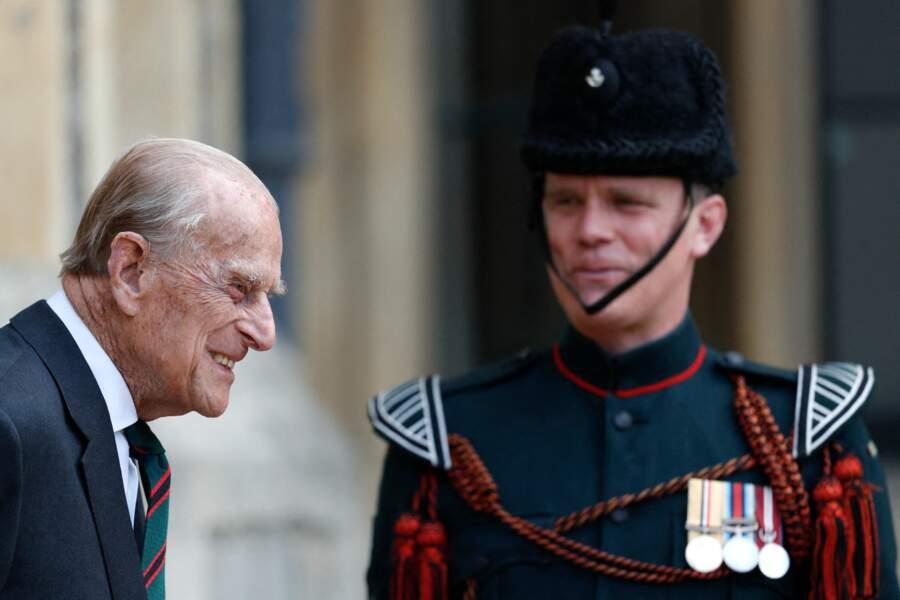 Pour cette occasion spéciale, le prince Philip a néanmoins souhaité se rendre en personne à la cérémonie