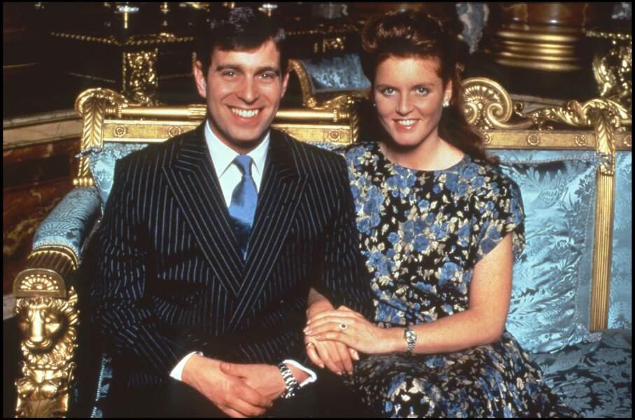 Le prince Andrew et Sarah Ferguson, en 1993.