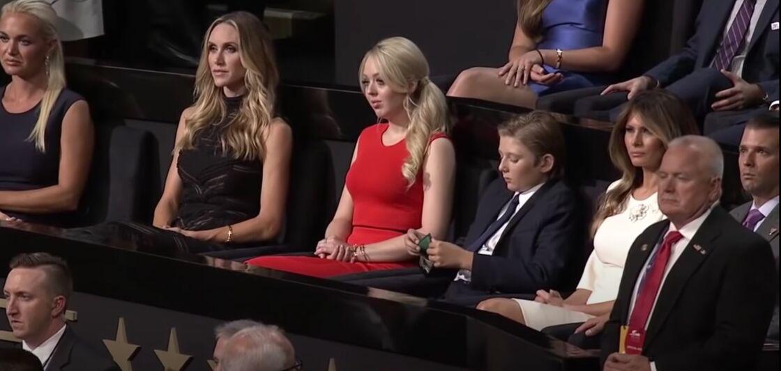 Barron Trump (à droite), le jour de l'investiture de son père.