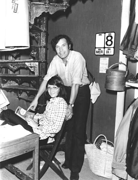 Yvette et Fred Prysquel, à Saint-Tropez dans les années 70. L'histoire d'amour qui va aboutir à la création de Vilebrequin.