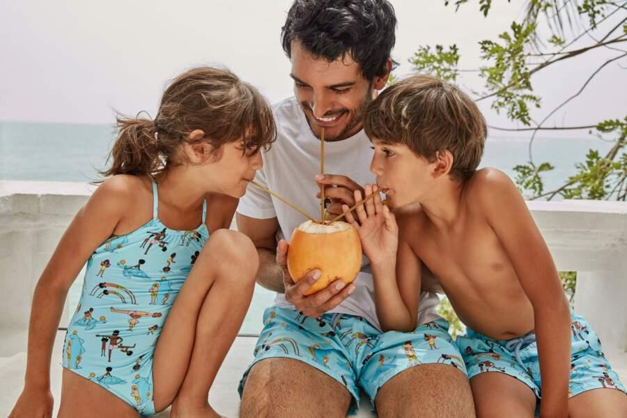 Les maillots de bain Vilebrequin séduent toute la famille