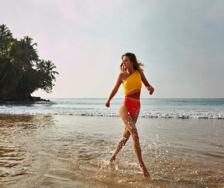 Cet été, les maillots de bain une-pièce aussi sensuels qu'élégants font partie des best-sellers de la marque.