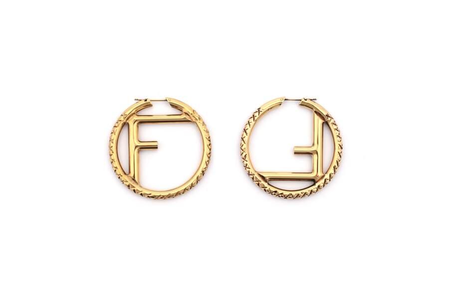 Boucles d'oreilles, 590€, Fendi
