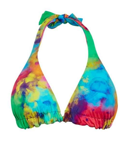 Haut de maillot de bain femme triangle à nouer Holi Party, Vilebrequin