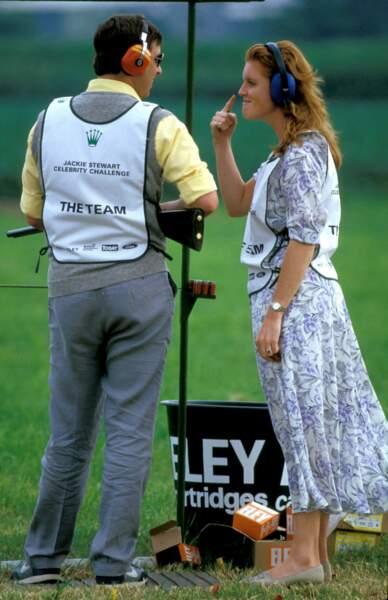 Le prince Andrew et Sarah Ferguson, en 1986.